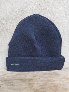 Sailors Knit Hat (Blue Chine) Unis A by Saint James