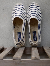 Load image into Gallery viewer, Espadrilles (Cream Stripe)