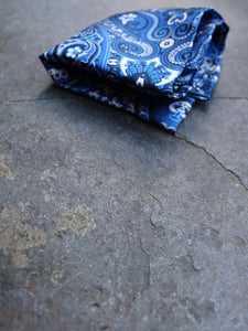 Pocket Square | Paisley (Blue)