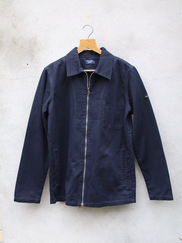 Zephyr Cotton Drill Jacket (Navy)