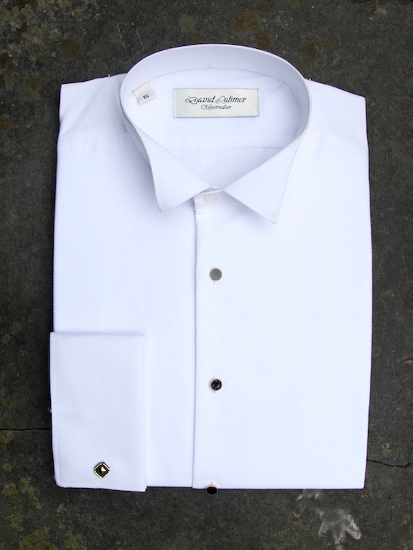 Wing Collar Shirt (White)