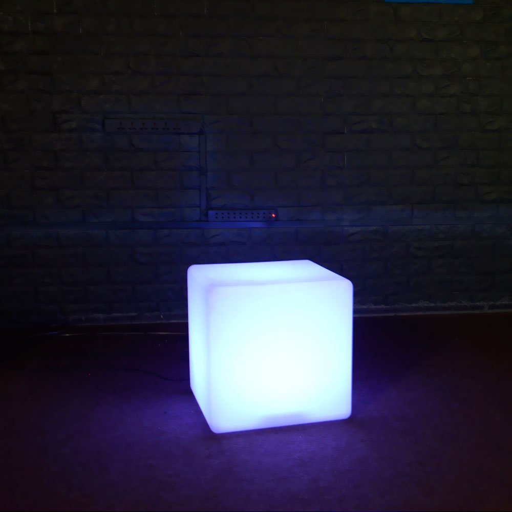 12'' LED Light Cube