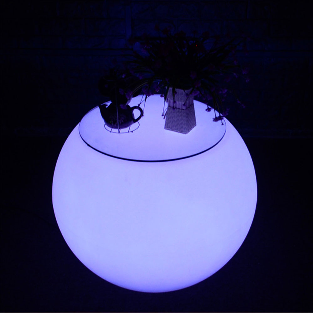 25.6'' LED Lounge Round Table
