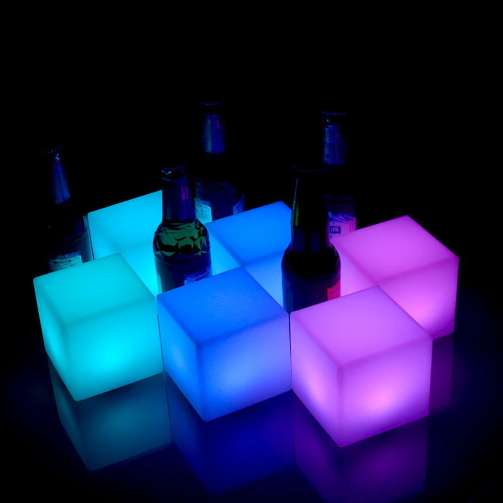 8'' LED Light Cube