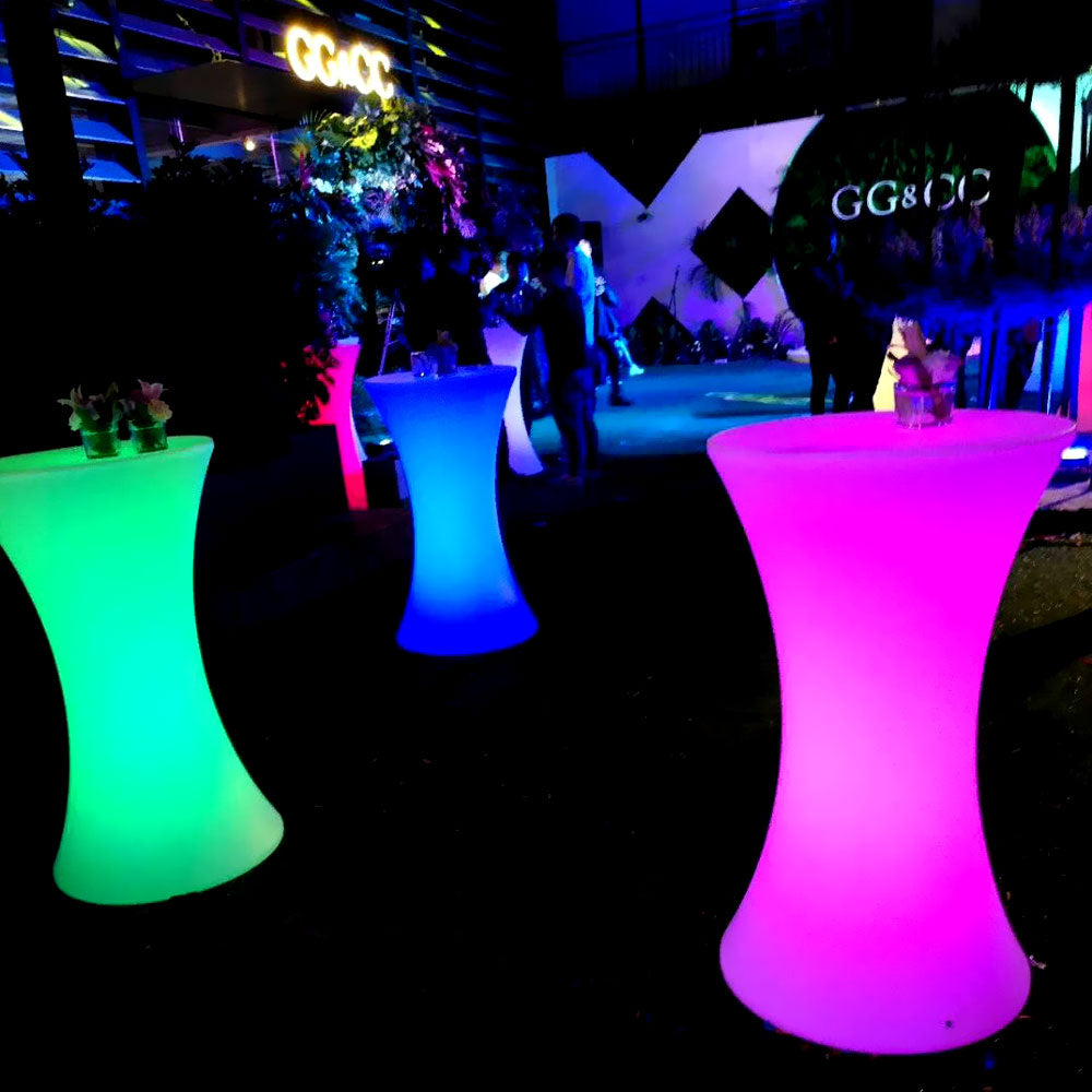 LED Cocktail Bar Table