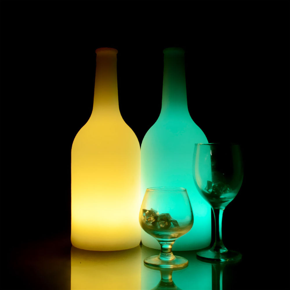LED Beer Bottle Shaped Light for table decor of night bar club