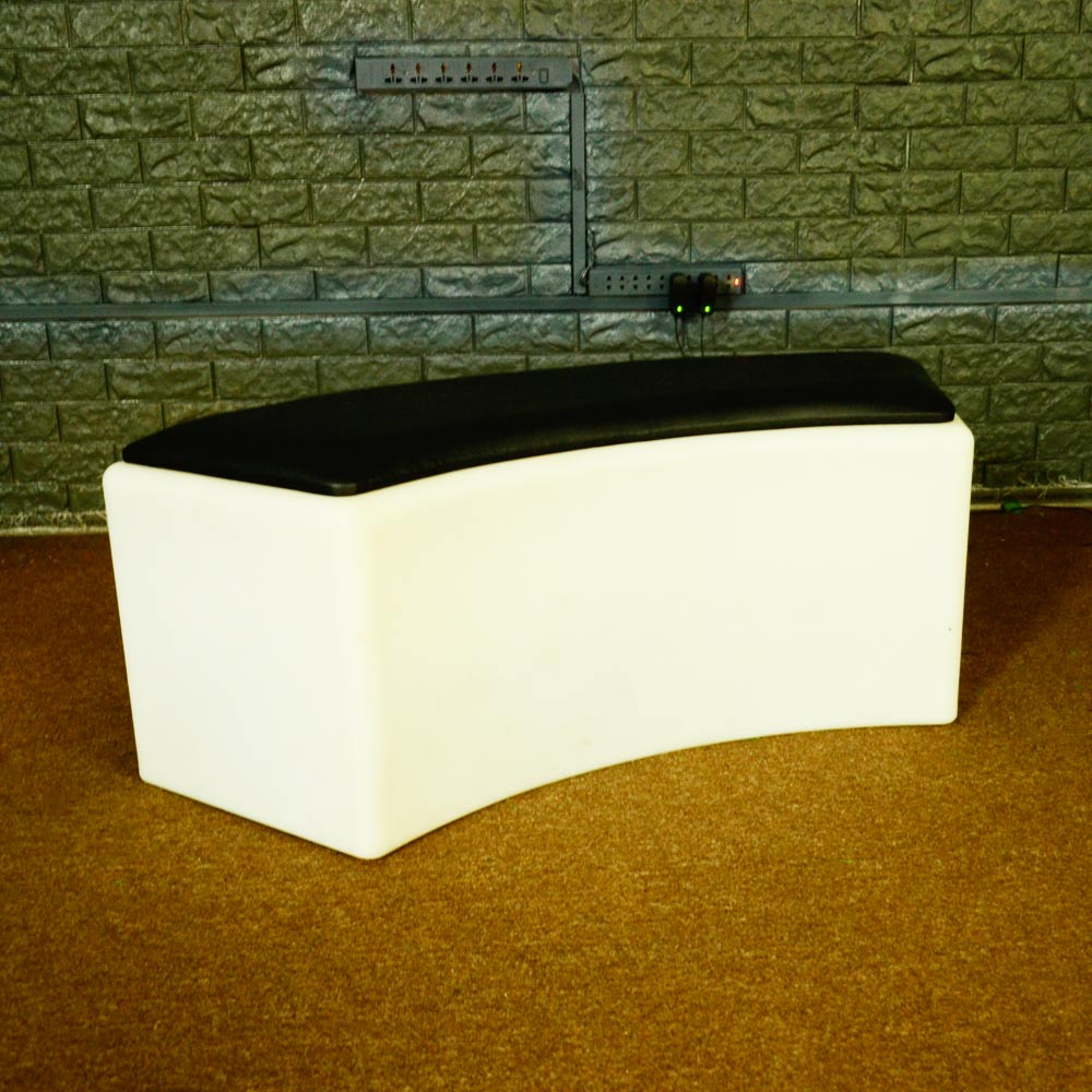 LED Bend Stool with Cushion