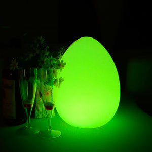 LED Egg Shaped Light for table decoration of home restaurant club bar