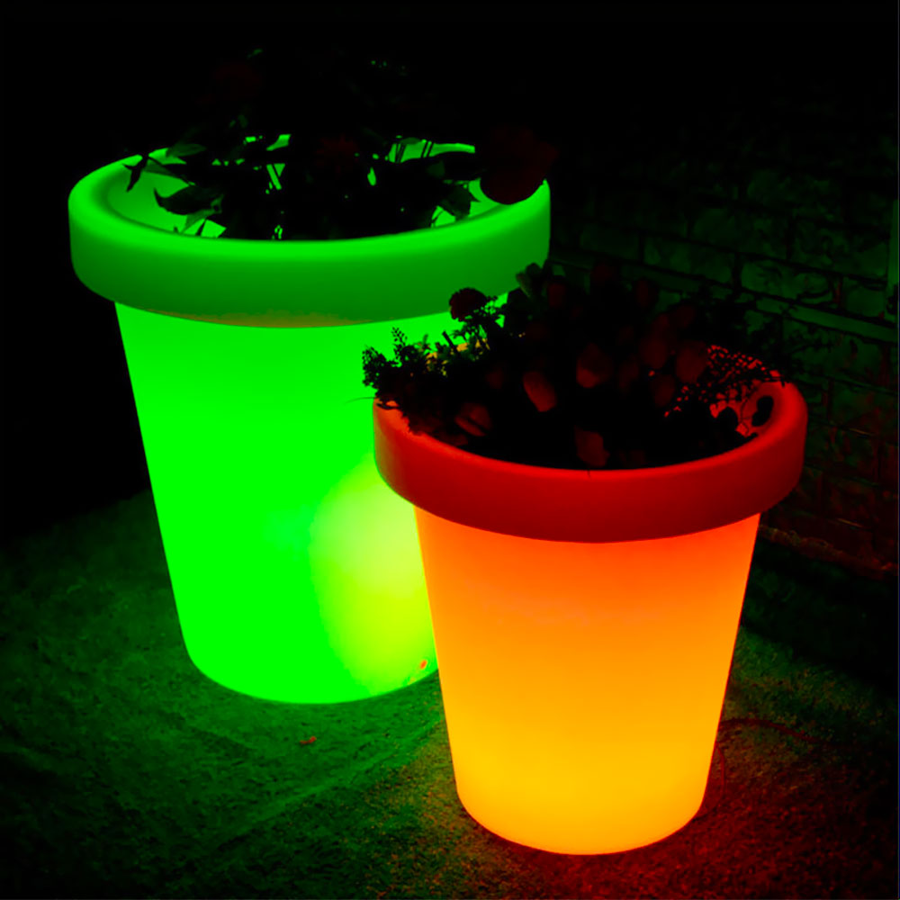 LED Flower Pot - FL07 FL08