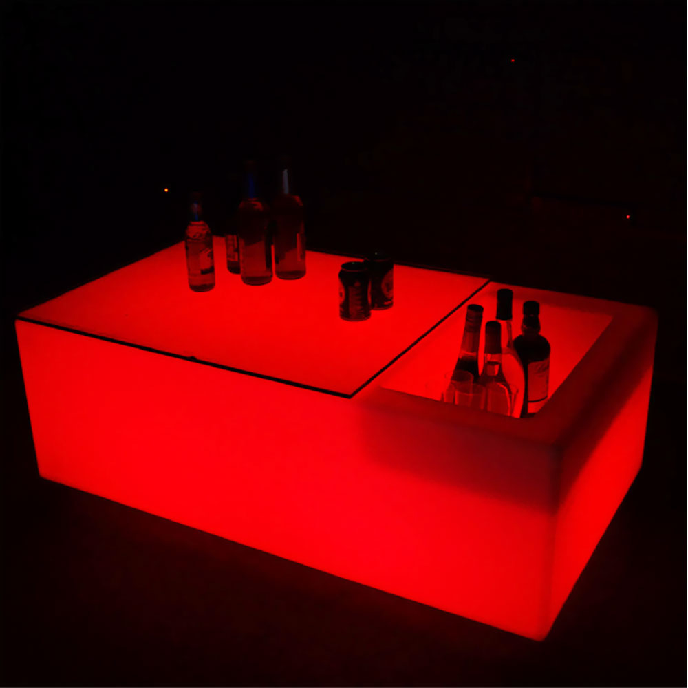 LED  Ice Bucket Table