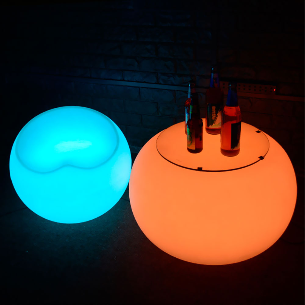 LED Lounge Round Table
