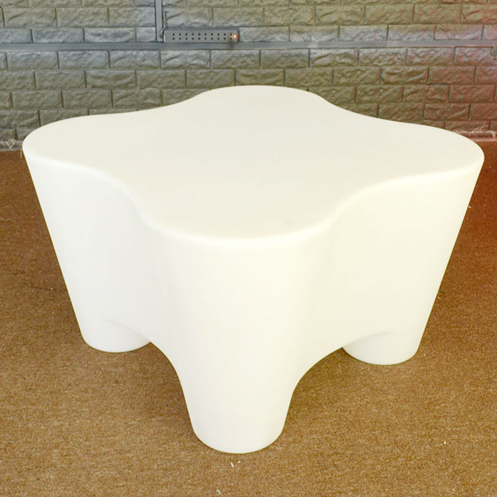 LED Quatrefoil Table