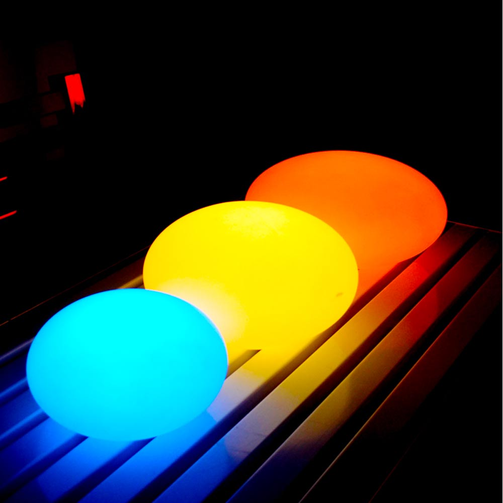 Led Flat Ball Light