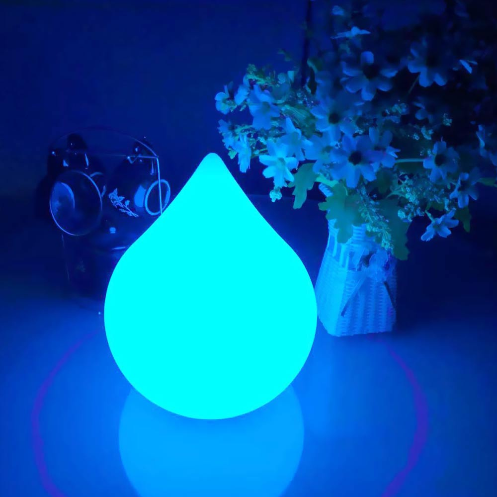 Led Teardrop Shaped Glow Mood Light