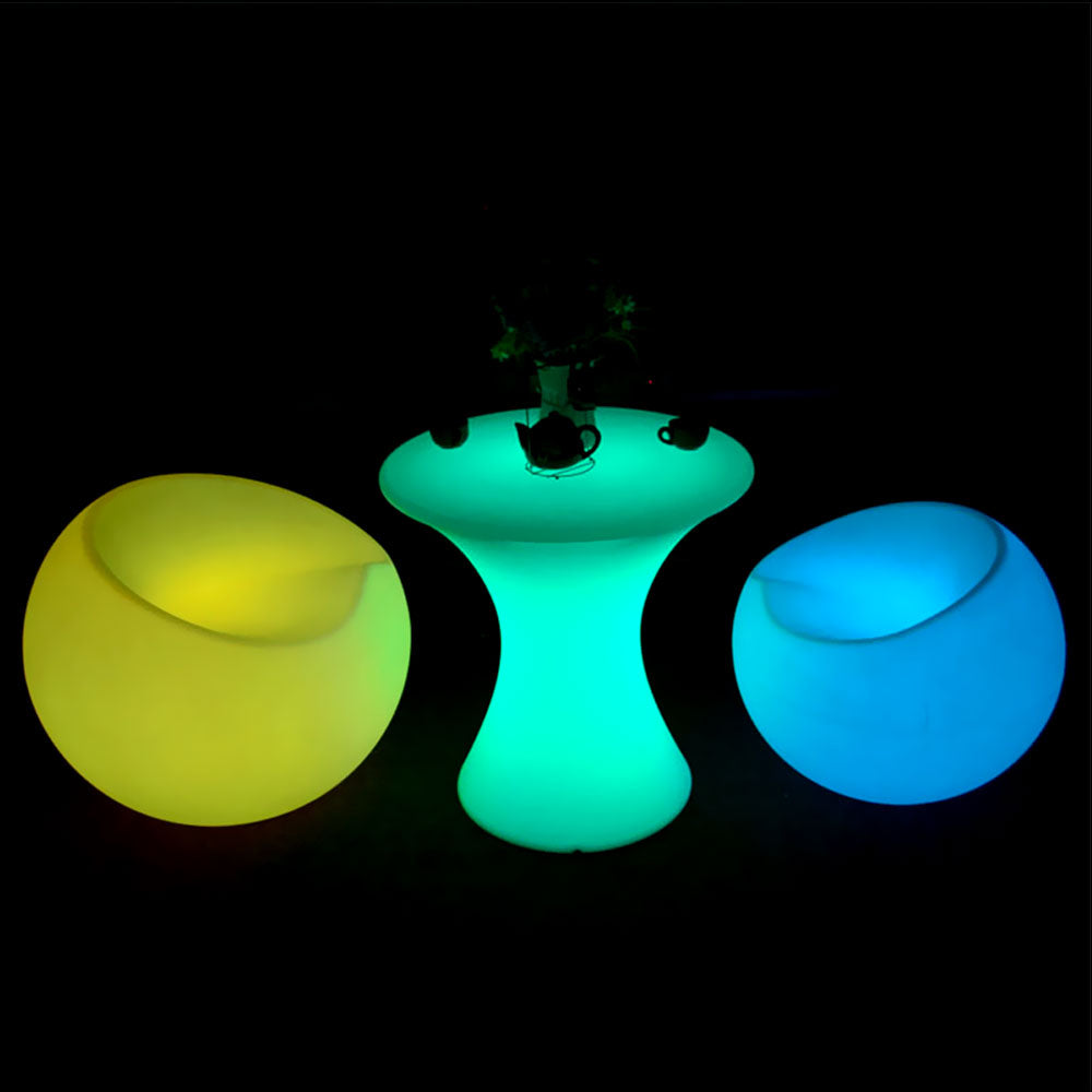 led glow furniture led apple stool