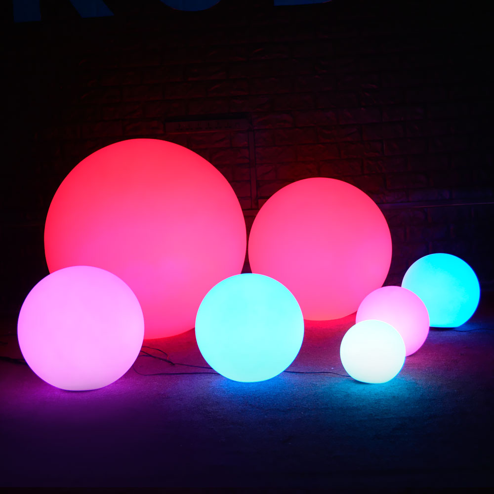 kuno led glow light ball wholesale for holiday decor, event party