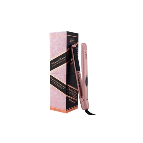 Aria Beauty Salon Series Infrared Styler Rose Gold Flat Iron Digital