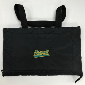 "Black ""Howell"" Blanket in Bag"