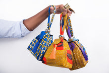 Load image into Gallery viewer, Ankara Kettle Purse