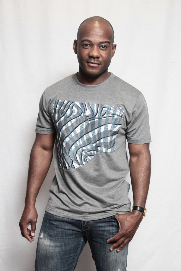 Gray Stripes Tee