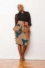 Load image into Gallery viewer, Evelyn Lewis Peplum Skirt