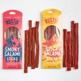 Spicy Salami Sticks