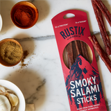 Smoky Salami Sticks