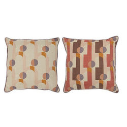 Arch Cotton Stitch Cushion 50x50cm-Soft Furnishings-Coast To Coast Home-The Bay Room