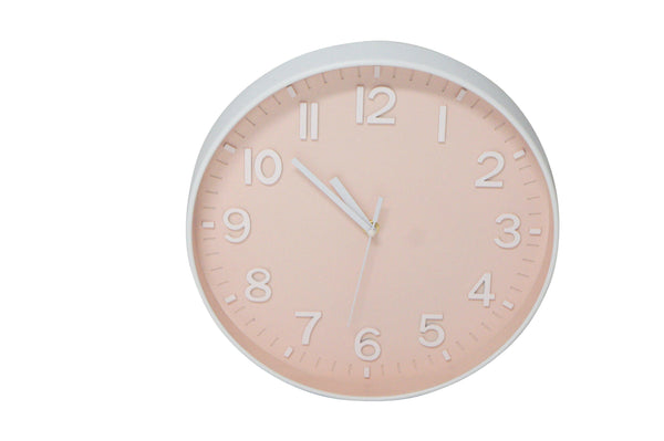 Bonnie Wall Clock - Pink-Wall Decor-Robert Mark-The Bay Room