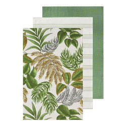 Calypso Tea Towel - Pack of 3-Kitchenware-Madras Link-The Bay Room