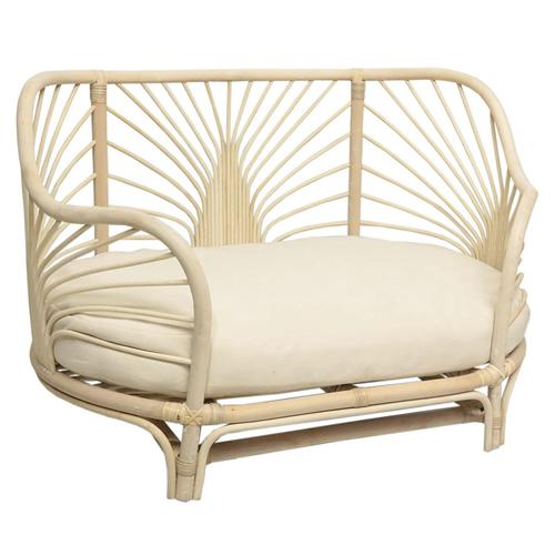 Cane Baby/Dog Couch Bed - Natural-Furniture-DWBH-The Bay Room