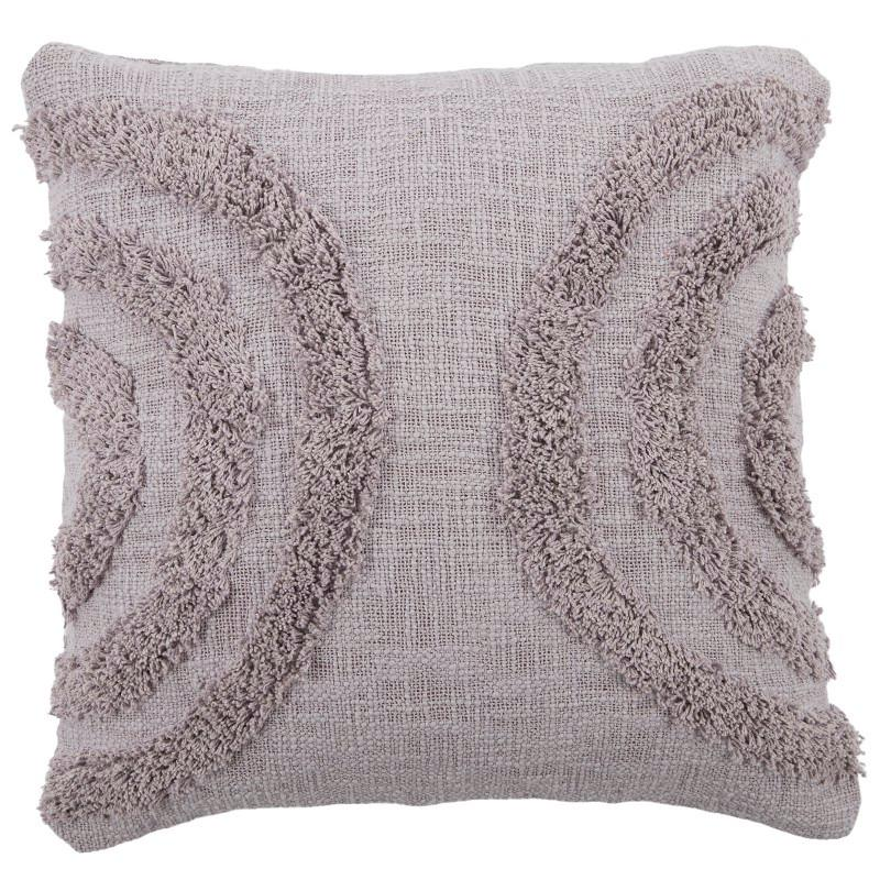 Crescent Cotton Cushion 50x50cm - Lilac-Soft Furnishings-Coast To Coast Home-The Bay Room