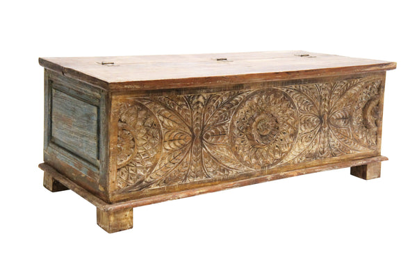 Dhawn Bench Storage Chest-Furniture-Robert Mark-The Bay Room