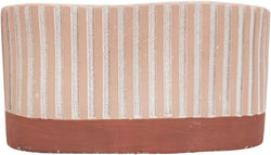 Ensley Long Planter Pink-Decor Items-Urban Products-The Bay Room