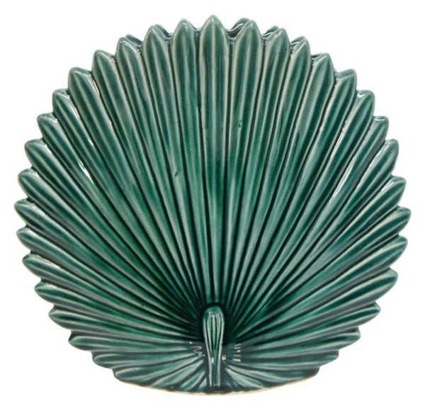 Fan Palm Ceramic Vase - Large-Decor Items-Stoneleigh & Roberson-The Bay Room
