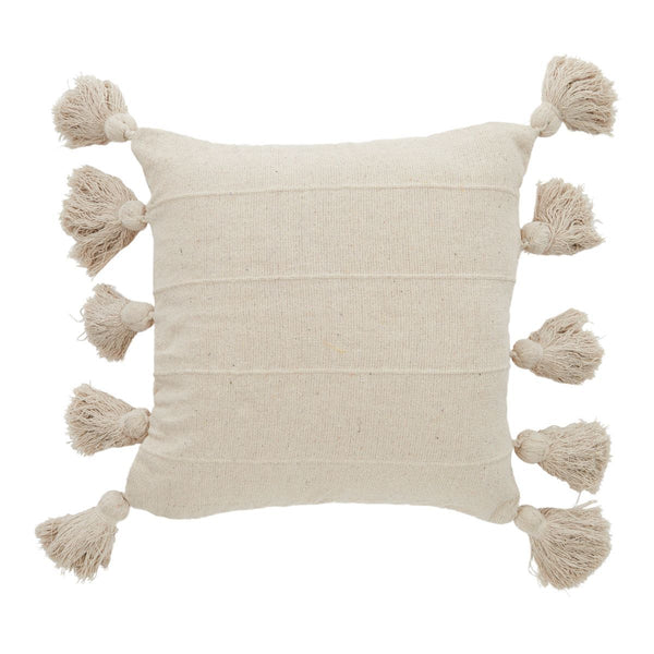 Galina Cotton Cushion 50x50cm-Soft Furnishings-Coast To Coast Home-The Bay Room