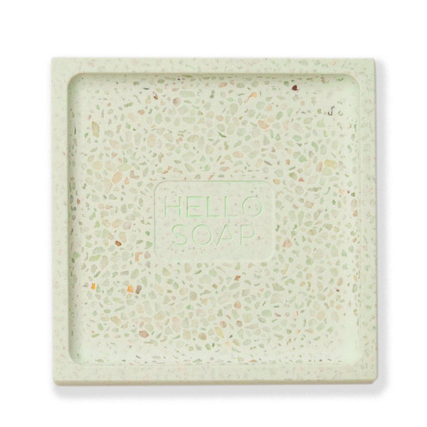 Hello Soap Dish - Green-Decor Items-Kalastyle-The Bay Room