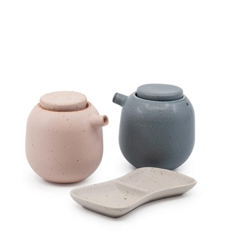 IKANA Soy Set - 3-Piece-Dining & Entertaining-Salt & Pepper-The Bay Room