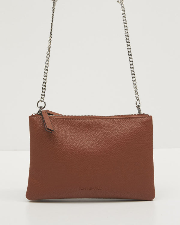 Ilias Crossbody Bag - Tan-Bags & Clutches-Tony Bianco-The Bay Room