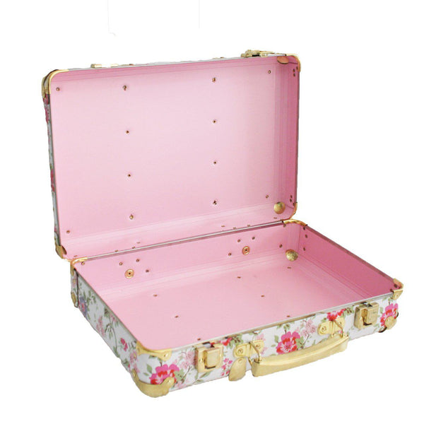 Mini Vintage Brief Case - Cottage Rose-Toys-Alimrose-The Bay Room