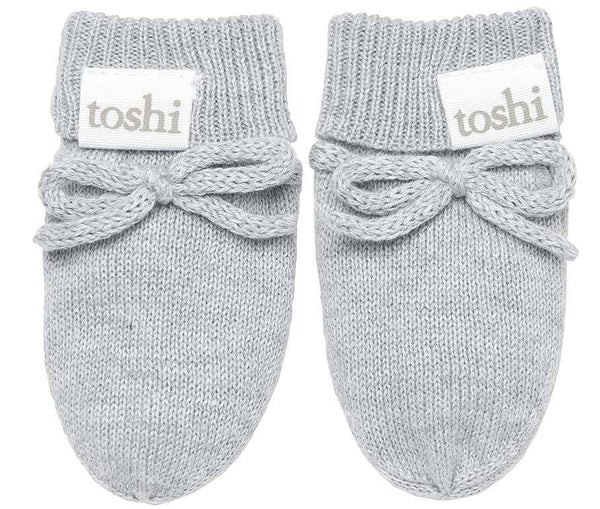 Organic Mittens Marley Dove-Clothing & Accessories-Toshi-The Bay Room