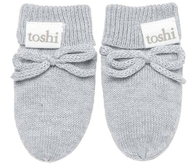 Organic Mittens Marley Dove-Clothing & Accessories-Toshi-One Size-The Bay Room