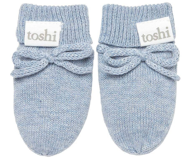 Organic Mittens Marley Tide-Clothing & Accessories-Toshi-The Bay Room