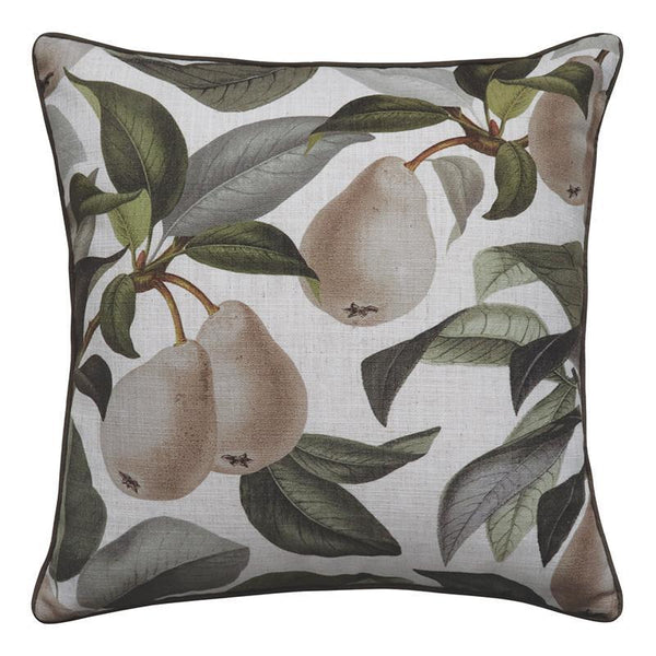 Pears Cushion 50x50cm-Soft Furnishings-Madras Link-The Bay Room