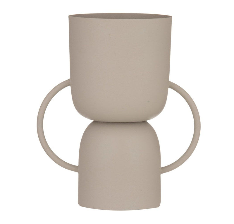 Sedona Vessel/Planter Pot - Beige-Decor Items-Amalfi-The Bay Room