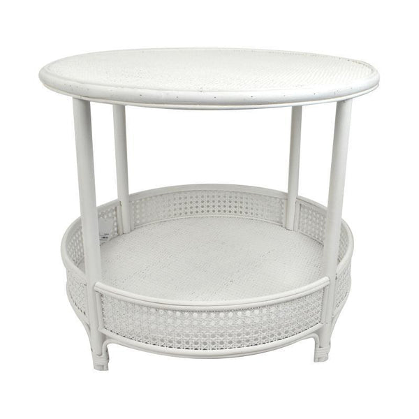 Suva Rattan Coffee Table - White-Furniture-Coast To Coast Home-The Bay Room