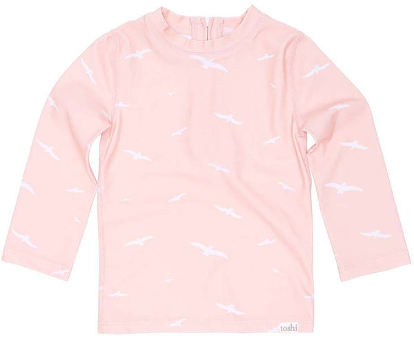 Swim Rashie Long Sleeve Palm Beach-Clothing & Accessories-Toshi-The Bay Room
