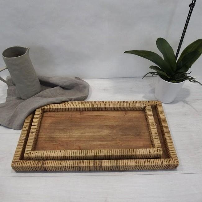 Weave Tray-Decor Items-Mediterranean Markets-The Bay Room