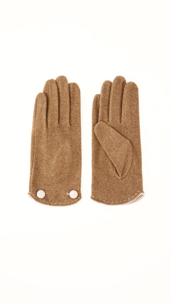Windsor Glove - Fossil-Scarves, Belts & Gloves-Brave & True-The Bay Room