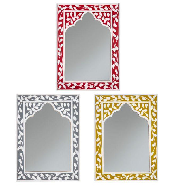 Zahra Mirror - 3 Asst Colours-Wall Decor-Amalfi-The Bay Room